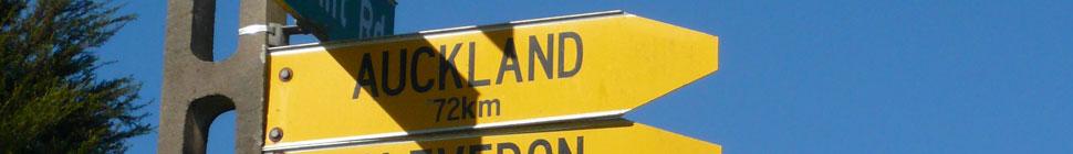 auf nach Auckland